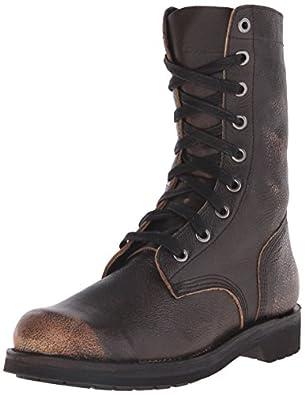 Amazon.com: Diesel Men's D Komtop Combat Boot: Shoes