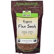 Organic Flax Seed Now Foods 1 lbs Seed