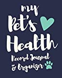 My Pet's Health Record Journal & Organizer: Blank Lined Planner Book
