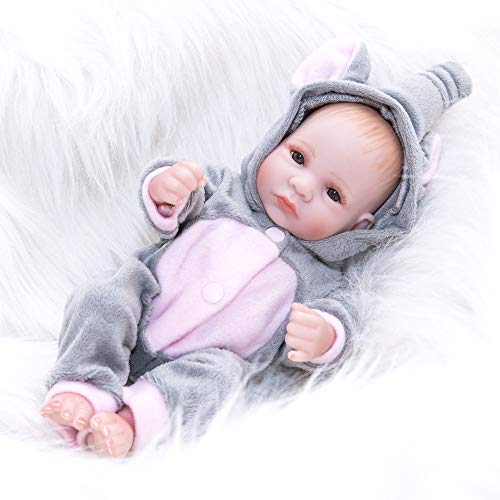 AFYH Rebirth Doll, Doll Simulation Baby - can take a Bath - Silicone Doll - Silicone Rubber, Child Growth Companion - Resistance to bite - Collection Art. by AFYH (Image #5)