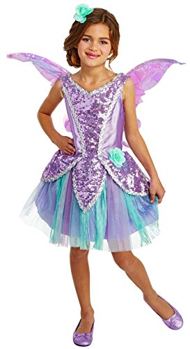Lavender Fairy Child Costume (4-6) - Lavender Girls Costumes