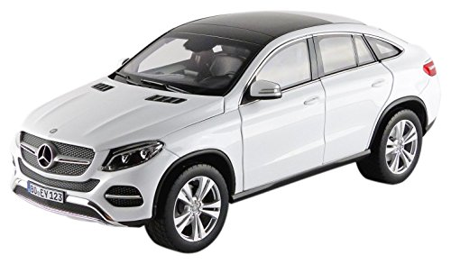 2015 Mercedes GLE Class Coupe White 1/18 by Norev - Model Gle