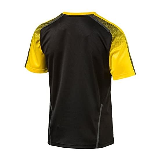 PUMA BVB Stade T-Shirt en Jersey pour Homme sans Logo du Sponsor