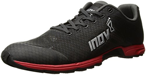 Inov-8 Men's F-Lite 195 V2 Sneaker, Grey/Red, M10.5 C US