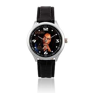 Fashion Adult Wrist Watch Leather Band PSL322 Robert Nesta Bob Marley #1W