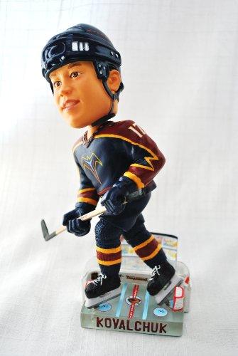 Atlanta Thrashers rookie yr Official NHL #17 Ilya Kovalchuk Ice base action Bobble Head