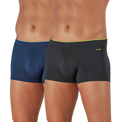 XYXX Men's Underwear Uno IntelliSoft Antimicrobial Micro Modal Trunk