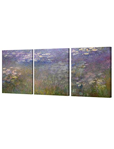DecorArts Giverny Triptych Painting Reproduction