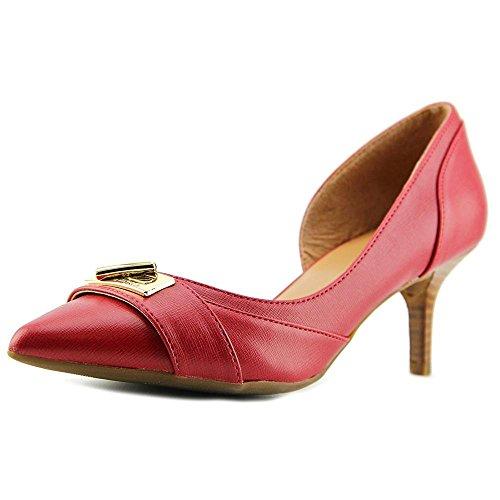 Tommy Hilfiger Joetta bombas zapatos de la mujer Dark Red LL