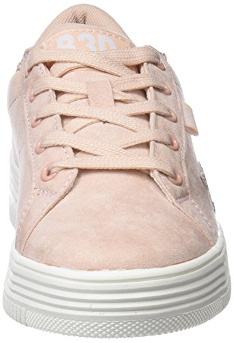 41487 Rose Bass3d Femme Sneakers Basses dwxZxIq8