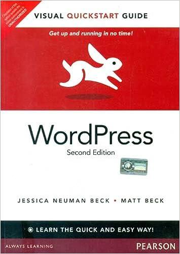 WordPress 2: Visual QuickStart Guide