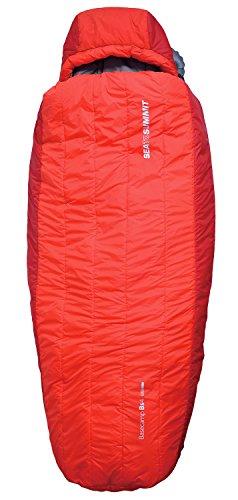 Sea to Summit BaseCamp Bs4 Sleeping Bag Regular red 2016 mummy sleeping bag