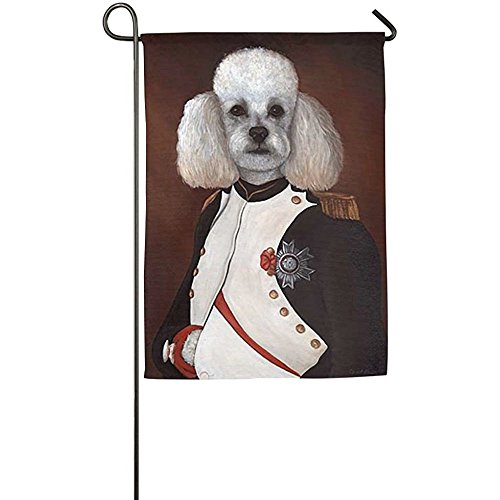 Starutahzz Personalized Poode Poodle Dog Season Lawn Yard House Garden Flags 12 X 18 Polyester Fiber (Season Poodle)