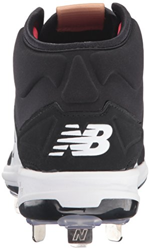 Nuovo Equilibrio Mens M3000v3 Scarpe Da Baseball In Metallo Nero / Bianco