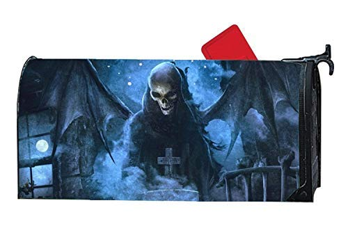 Tollyee Attractive Mailbox Makover Cover Avenged Sevenfold Nightmare Maintainable Fashion Mailbox Covers Garden Magnetic Magnetic Mailbox Cover 9