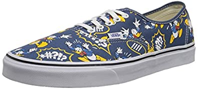 Amazon.com | Vans Unisex Disney Donald Duck Skate Shoes-Donald ...