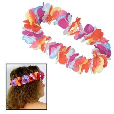 Silk 'N Petals Parti-Color Headband (multi-color) Party Accessory  (1 (Halloween Parti)