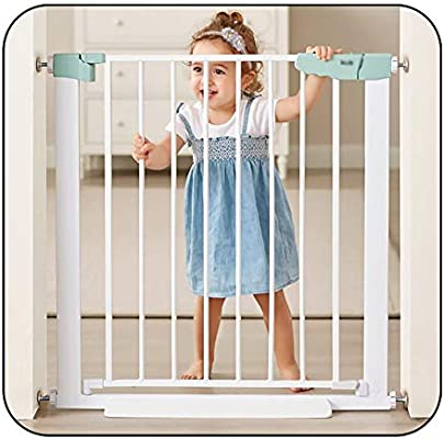 QIANDA Barrera de Seguridad Bebé Puerta de la Escalera Caminar por La Puerta De La Puerta