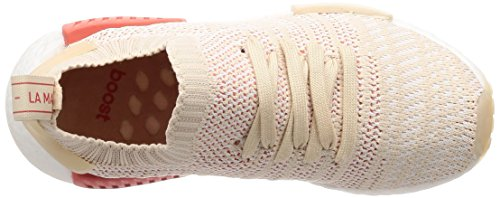 Adidas White Primeknit Beige crystal Stlt linen r1 Sneakers 0 Femme Nmd footwear Basses White vqrvxRHw
