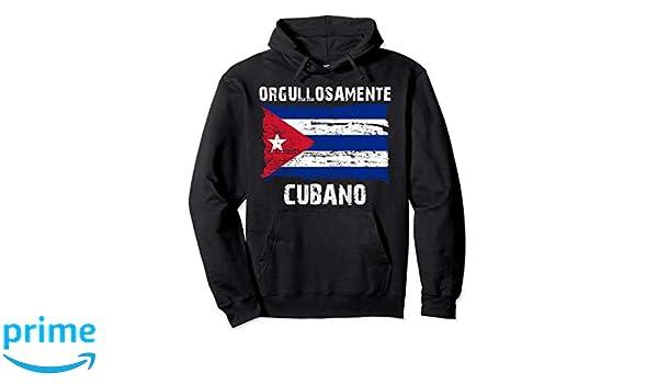 Amazon.com: Orgullosamente Cubano Sudadera para hombres y mujeres: Clothing