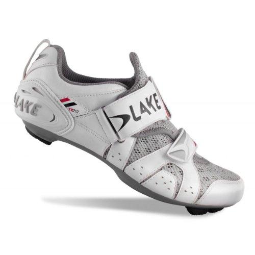 Lake TX212 Triathlonschuhe Men weiß/schwarz Größe 50 2014