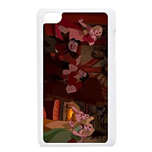 iPod Touch 4 Phone Case White Beauty and the Beast Le Fou AU7279311