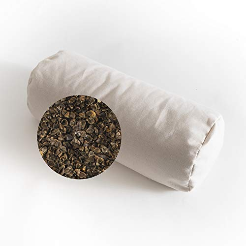 Sachi Organics Buckwheat Cylinder Neck Pillow