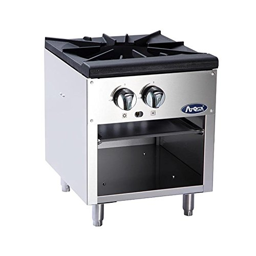 Single Gas Stock Pot Stove by Atosa