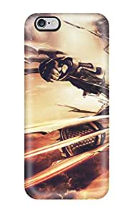 2538235K92954069 Special Skin Case Cover For Iphone 6 Plus, Popular Cyber Ninja Phone Case