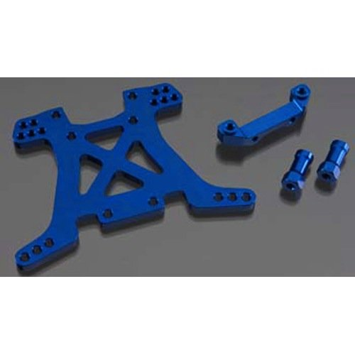 Traxxas 6838X Blue-Anodized 7075-T6 Aluminum Rear Shock (Chassis Rear Shock Tower)