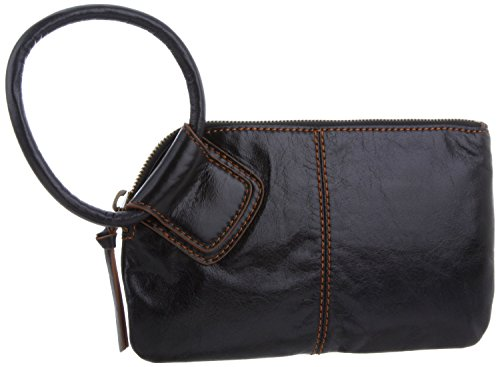 Hobo  Sable VI-35036BLK Wristlet,Black,One Size