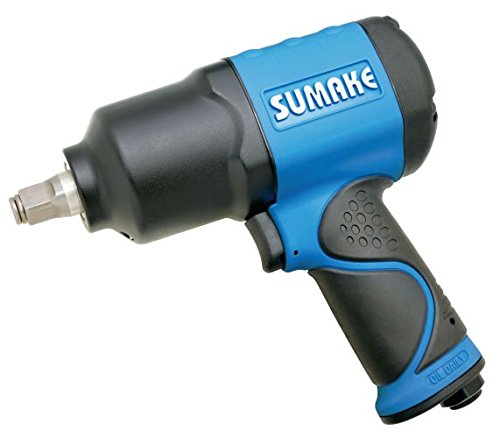 Professional 1 2 Twin Hammer Air Impact Wrench Max Torque 1,000 ft-lbs, 1,491 N-m. Sumake ST-C554S