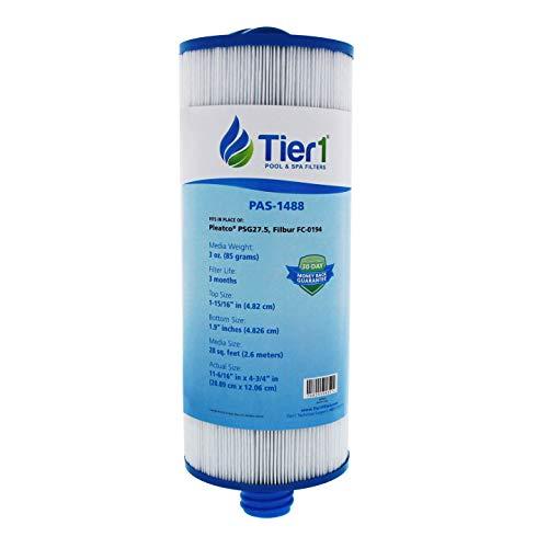- Tier1 Replacement for Pleatco PSG27.5 Saratoga Spa Circulation Pump Filter Cartridge