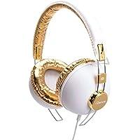iDance HIPSTER 703 Headband Headphones - White & Gold
