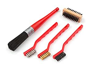 TEKTON 7063 Detail Brush Set, 5-Piece