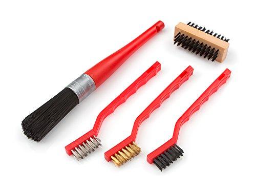 TEKTON 7063 Detail Brush Set, 5-Piece Parts Cleaning Brush
