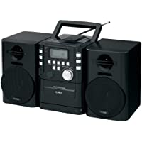 Jensen CD725 Audio CD/Cassette Mini System