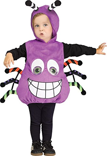 Fun World Googly Eye Spider Tunic Toddler Costume, Multicolor, One Size]()