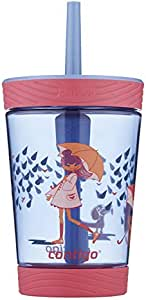 Contigo Spill Proof Tumbler, Pink Wink 414 ml Capacity, Multicolored