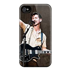 Best Cell-phone Hard Cover For Iphone 4/4s With Provide Private Custom Stylish Arctic Monkeys Band Pattern LauraAdamicska