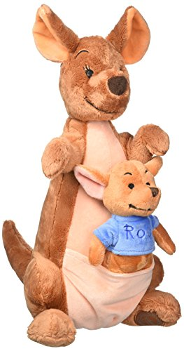 Disney Kanga and Roo Plush Toy - 14 1/2'' H