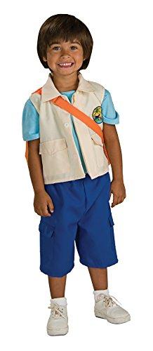 UHC Nickelodeon Nick Jr. Go Diego Go Deluxe Toddler Kids Halloween Costume, 2T-4T (Nick Jr Halloween Costumes)