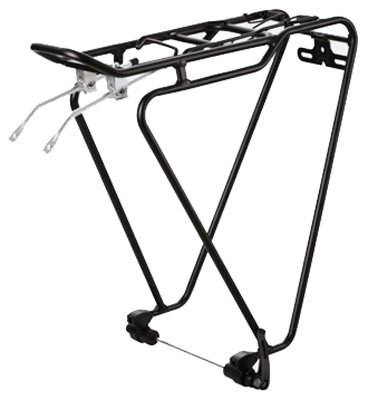 "Sunlite QR-Tec Rear Rack, 26""/700c, Black"