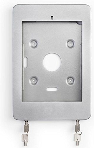 Displays2go Floor Standing iPad Pro 10.5'' Kiosk with Locking Enclosure – Silver (IPRO105STBK) by Displays2go (Image #5)
