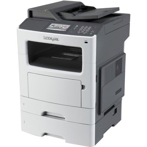 Lexmark International, Inc - Lexmark Mx511dte Laser Multifunction Printer - Monochrome - Plain Paper Print - Desktop - Copier/Fax/Printer/Scanner - 45 Ppm Mono Print - 1200 X 1200 Dpi Print - 45 Cpm Mono Copy - Touchscreen - 1200 Dpi Optical Scan - Automatic Duplex Print - 900 Sheets Input - Gigabit Ethernet - Usb