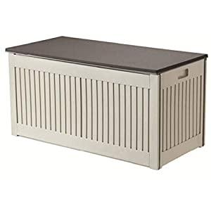 Plastic Deck Box Storage 270L Weatherproof Livivo