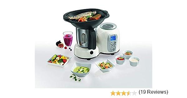 Gourmet Maxx térmica de Multi tetera eléctrica Premium 10 en 1 con derecha/izquierda rojo/negro rojo: Amazon.es: Hogar