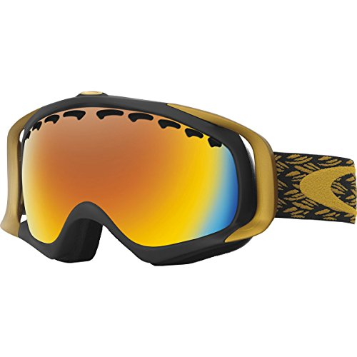 Oakley Crowbar Adult Goggles - ER Mimic Knit Burnished/Fire, used for sale  Delivered anywhere in USA
