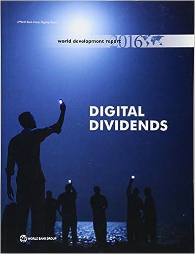 Digital Dividends World Development Report 2016