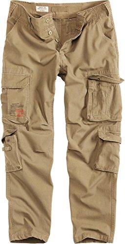 Beige Surplus Homme Slim Airborne Pantalon Vintage Cargo aYvaqwz